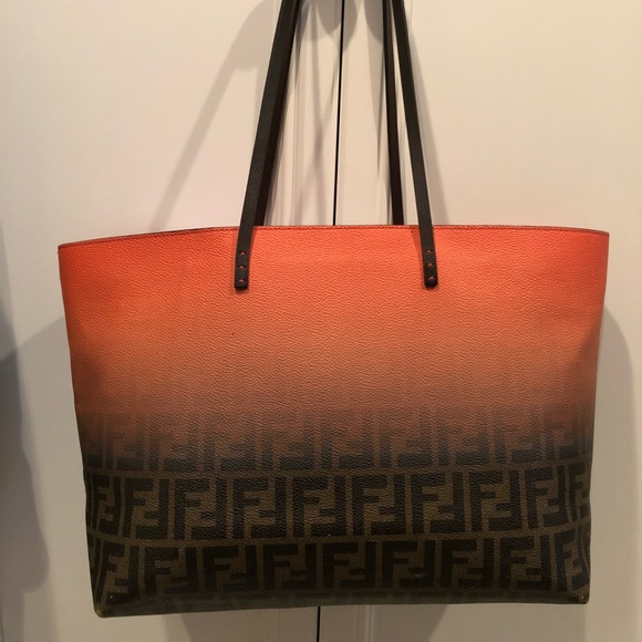 Fendi Handbags - 💯Authentic Fendi Ombré Zucca Tote 36d93cb5285c9